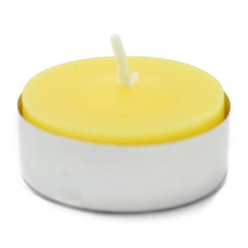 Jeco Inc Citronella Tealight Candle Color: Yellow, Quantity: Set of 200