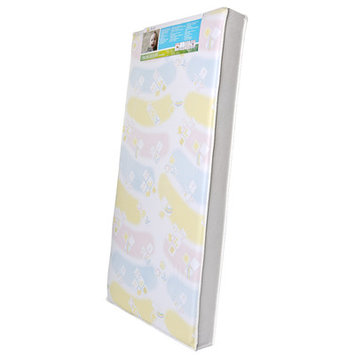 Dream On Me Industries Inc Dream On Me BR-2B5 Breathable 5 in. Foam Standard Crib & Toddler Mattress