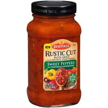 Bertolli® Rustic Cut Sweet Peppers and Portobello Mushrooms Pasta Sauce 23 oz. Jar
