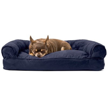 Zoey Tails Pillow/Classic Color: Navy, Size: 8