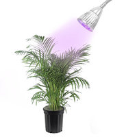 LED Concepts Grow Light, 5W LED, For Hydroponic Garden Greenhouse