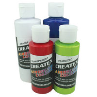 Createx 2oz Set Of 6 Tropical Colors