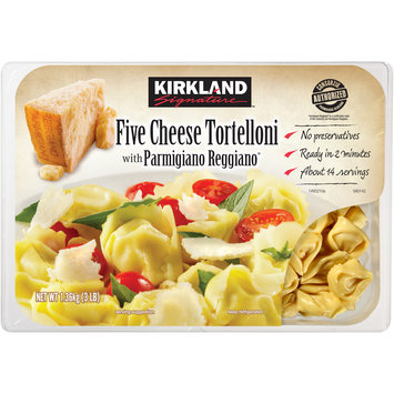 Kirkland Signature™ Five Cheese Tortelloni with Parmigiano Reggiano® 3 lb. Package