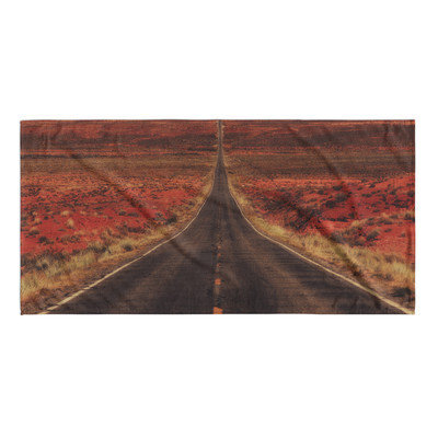 Kavka The Long Way Home Beach Towel