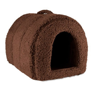Precioustails Dog and Cat Hooded/Dome Color: Coffee
