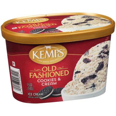 Kemps® Old Fashioned Cookies & Cream Ice Cream 1.5 qt. Tub