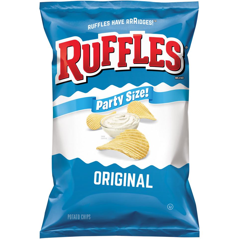 Ruffles® Original Potato Chips 1.75 oz. Bag