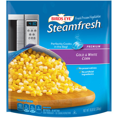 Birds Eye® Steamfresh® Premium Gold & White Corn 10.8 oz. Bag