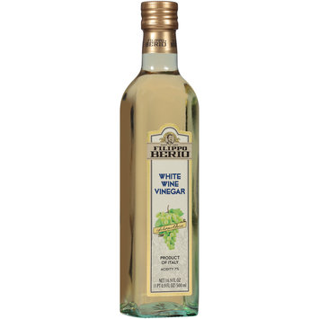 Filippo Berio® White Wine Vinegar 16.9 fl. oz. Bottle