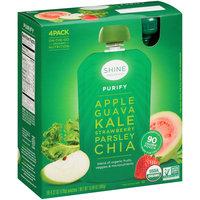Shine Organics™ Purify Fruit & Vegetable Blend 4-4.22 oz. Pouches
