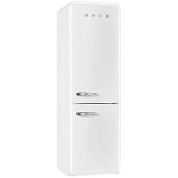 Smeg White 11.7 Cu. Ft. Retro Refrigerator with Bottom Freezer - Right Hinge