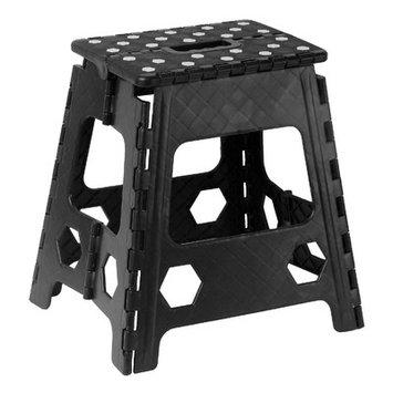 Rebrilliant Folding Step Stool Color: Black