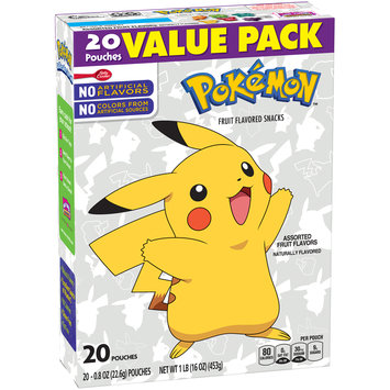 Betty Crocker™ Pokemon™ Fruit Flavored Snacks 20-0.8 oz. Pouches