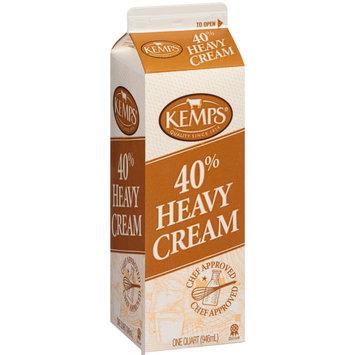 Kemps® 40% Heavy Cream 1 qt. Carton
