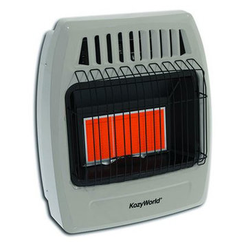 World Marketing Kozy World 18,000 BTU Infrared Liquid Propane Gas Wall Heater