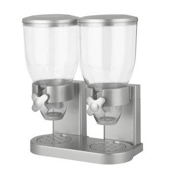 Zevro The Original Indispensable Double Dispenser Color: Silver