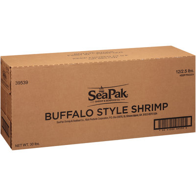 SeaPak™ Buffalo Style Shrimp 12 ct Box