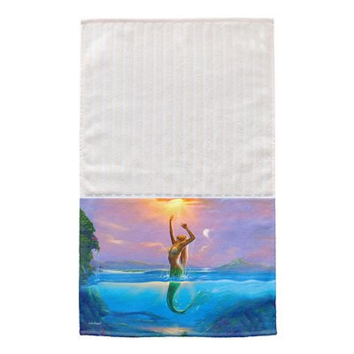 Live Free Mermaid Multi Face Hand Towel