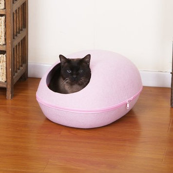 Petpals Pet Bed with Removable Cover Color: Pink