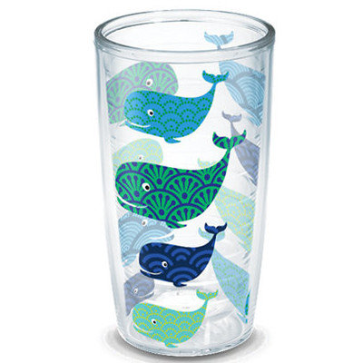 Tervis Tumbler Company Sun and Surf Whales Tumbler Size: 16 Oz.