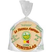 La Tortilla Factory® White Corn Organic Tortillas 8.68 oz. Bag