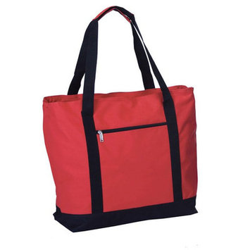 Picnic Plus By Spectrum Lido 2 in 1 Bag Picnic Cooler Color: Red/Black