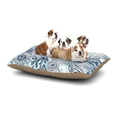 East Urban Home Anchobee 'Marina' Dog Pillow with Fleece Cozy Top Size: Small (40