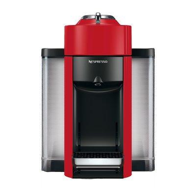 Delonghi Nespresso Vertuo Coffee and Espresso Single-Serve Machine Finish: Shiny Red