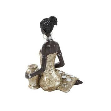 Cole & Grey Polystone African Lady Figurine