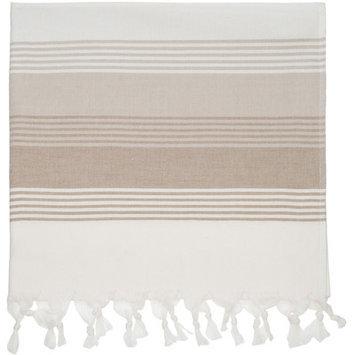 Nine Space Deena Fouta Towel in Beige
