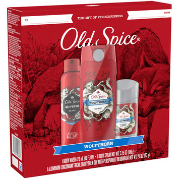 Old Spice Wolfthorn Gift Set 3 pc Box