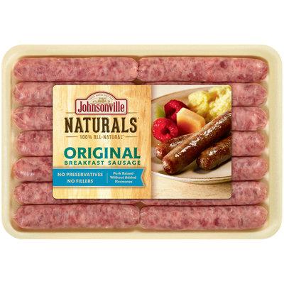 Johnsonville® Naturals Original Breakfast Sausage 10 oz. Tray