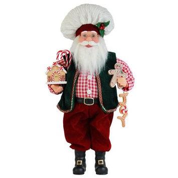 The Holiday Aisle Gingerbread Santa Figurine