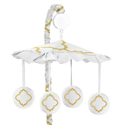 Sweet Jojo Designs Trellis Musical Mobile