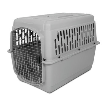 Doskocil Manfuacturing Company Petmate Pet Porter 2 Fashion Kennel, For Pets 70 to 90 Pounds, Pebble