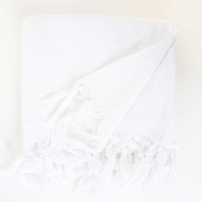 Darby Home Co Hudgens Hand Towel (Set of 2) Color: White