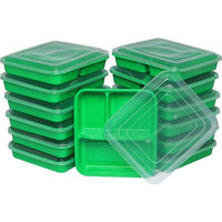 Rebrilliant Lunch Boxes 32 Oz Food Storage Container Color: Green