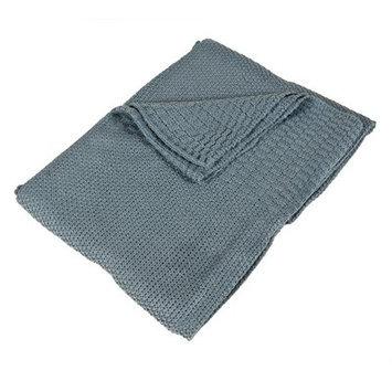Saro Soft Knitted Baby Blanket