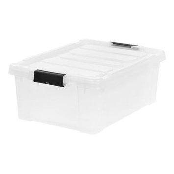 Iris Buckles Plastic Box Capacity: 10 Gallon