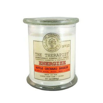 The Therapist Candles No. 10 Apple Orchard Breeze Soy Scent Jar Candle