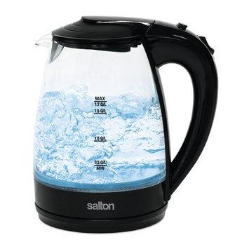 Salton 1.7 Qt. Glass Cordless Electric Tea Kettle