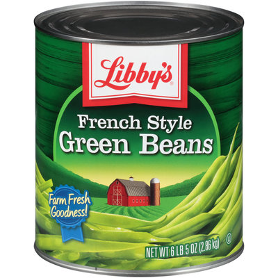 Libby's® French Style Green Beans 6.31 lb. Can