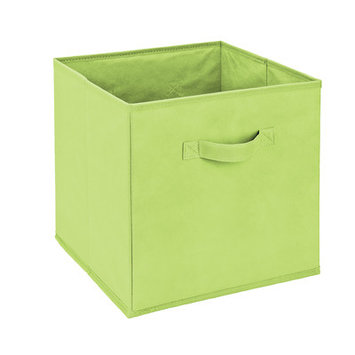 Wayfair Basics Foldable Storage Bin Size: Green