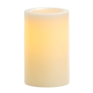 Winston Porter Vanilla Scented Flameless Candle Size: 6