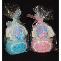 Bulk Buys 4 X 2.75in Candle - Baby Sheep in a bag - Case of 48