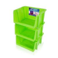 Rebrilliant Stack 'Ems- Stackable Storage Bin Color: Green