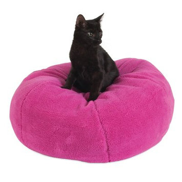 Jngy Dumpling Cat Bed Color: Pink