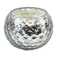 Mercer41 Honeycomb Scented Jar Candle Color: Silver
