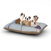 East Urban Home Catherine McDonald 'Sunshine and Warmth' Dog Pillow with Fleece Cozy Top Size: Small (40