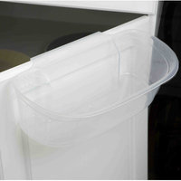 Home Basics Plastic Over the Cabinet Organizer Helper Shelf